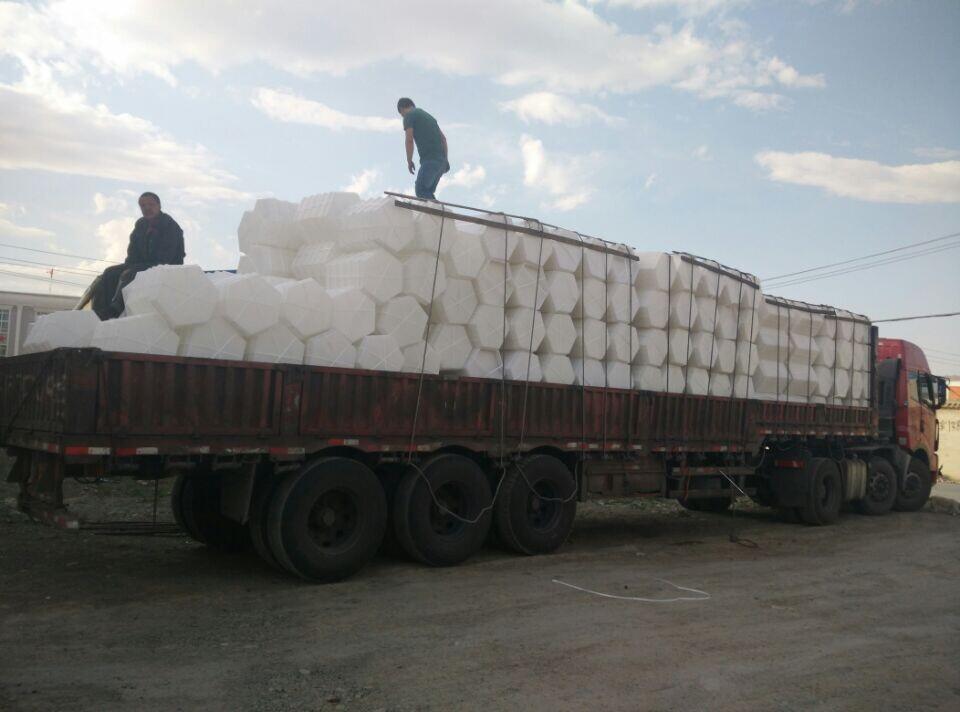 喀什邓厂长一次性订购6000套六边形塑料模具